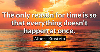 sunset-einstein quote
