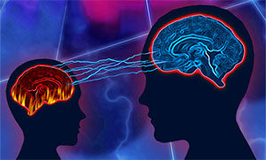 child and adult brainwaves